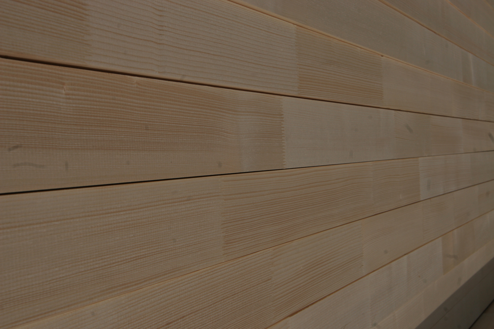 Laminated and finger-jointed spruce timber