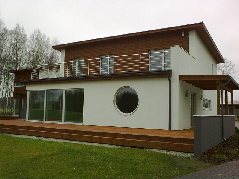 wood aluminium windows